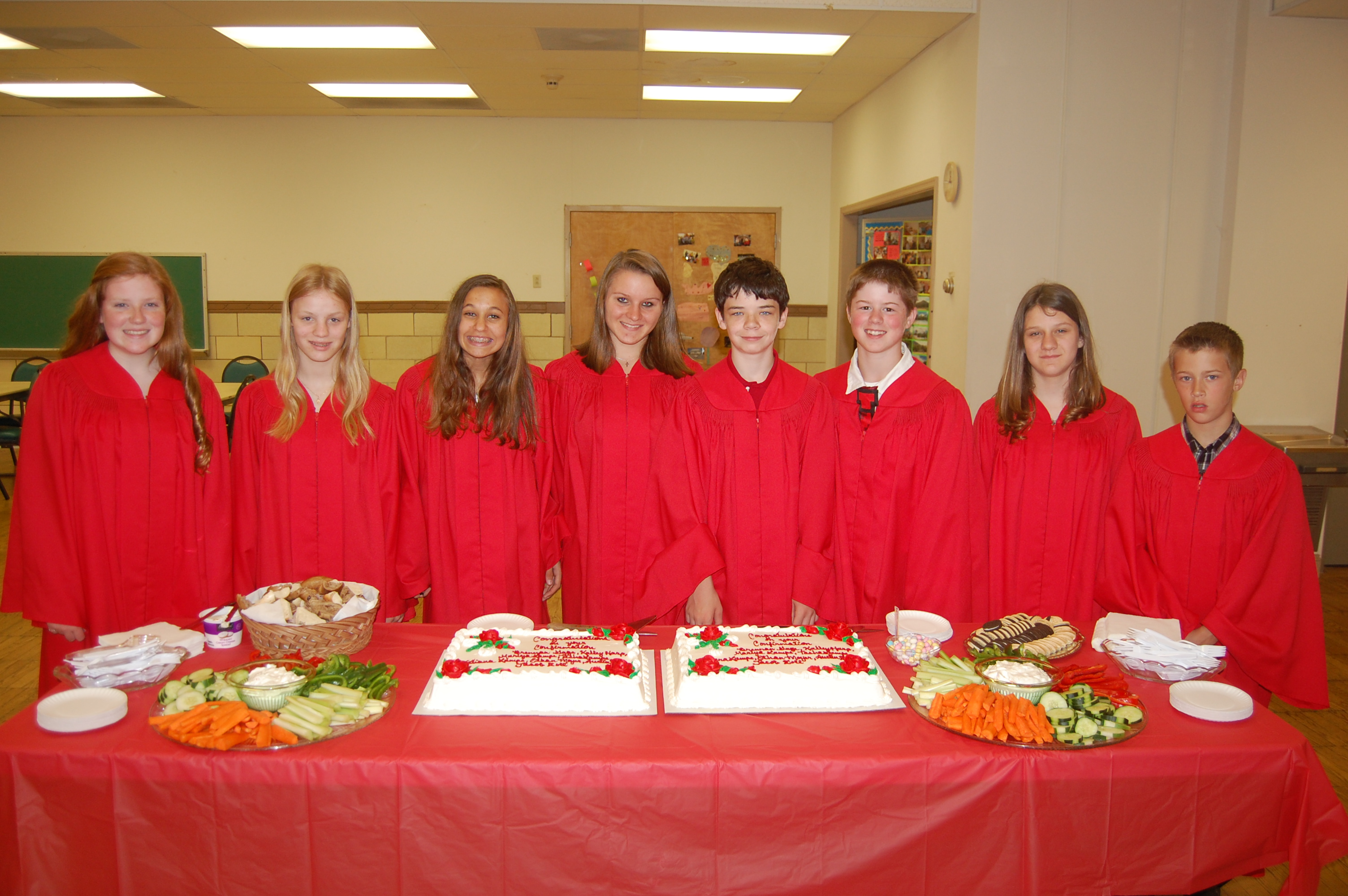 2014-06-08 Confirmation Class on Pentecost